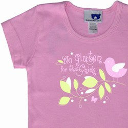 """No Gluten for This Chick"" Crewneck T-Shirt"
