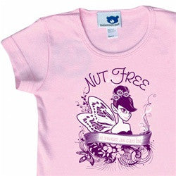 """Nut Free Fairy""  Fitted T-Shirt"