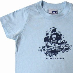 """No Seafood Aboard My Ship"" Crewneck T-Shirt"