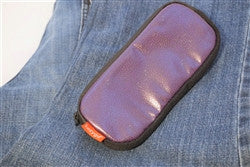 Epinephrine Auto-injector Carrier - Cobble (Chocolate or Purple)