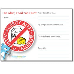 Dairy Alert Playdate Card