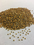 2mm Gold Rhinestuds