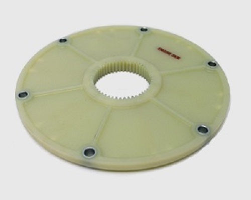 FLYWHEEL PLANGE, GREEN PLASTIC