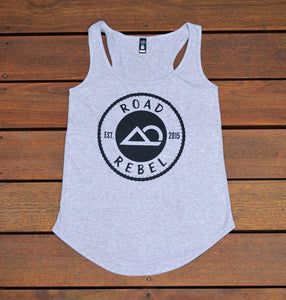 RR Classic Heather Grey Racerback Tank