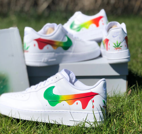 Sativa - Custom Air Force Ones