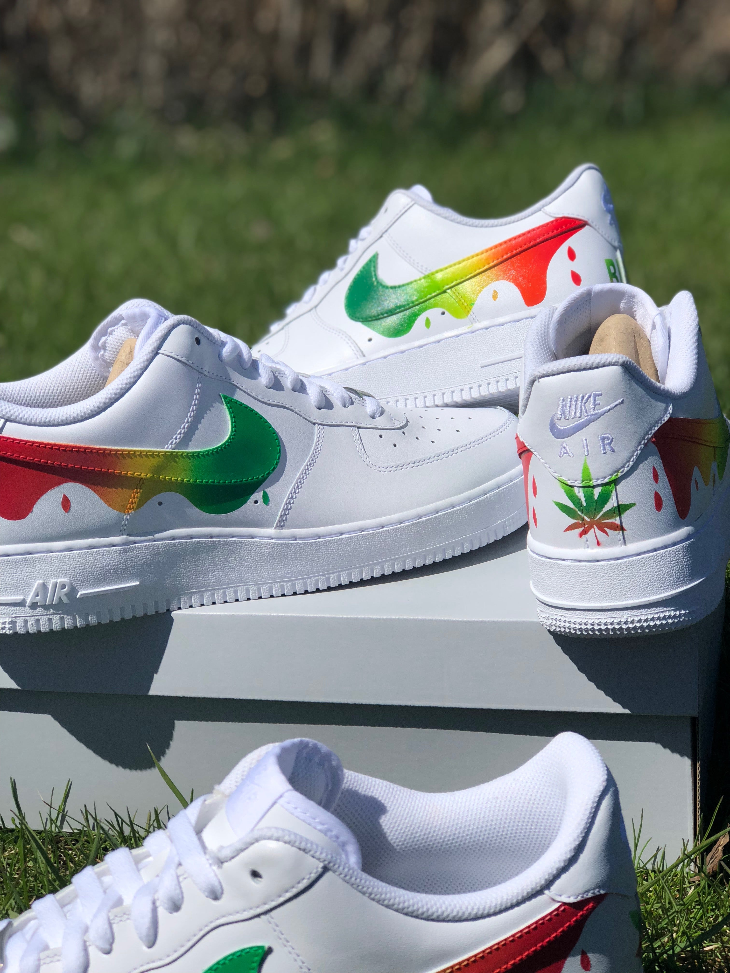 d0d38b28535 Sativa - Custom Air Force Ones – My Trendy Supply
