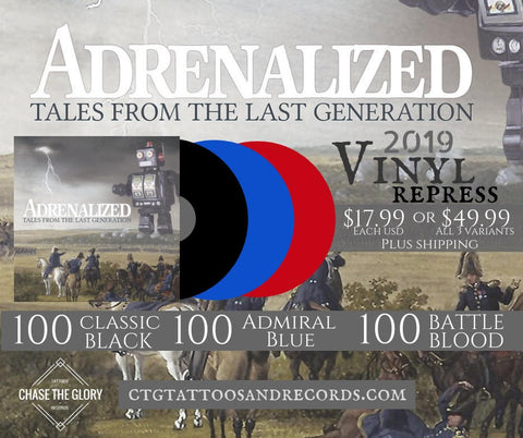 Adrenalized-Tales from the Last Generation vinyl LP