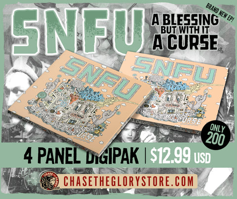 SNFU-A Blessing But With It A Curse Vinyl EP CD 4 Panel Digipak