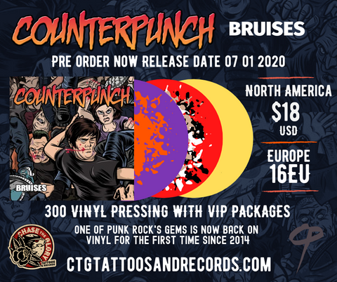 Counterpunch-Bruises 2020 Vinyl LP