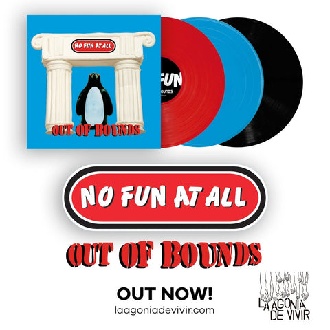 No Fun At All-Outta Bounds 3 colours Blue, Red or White