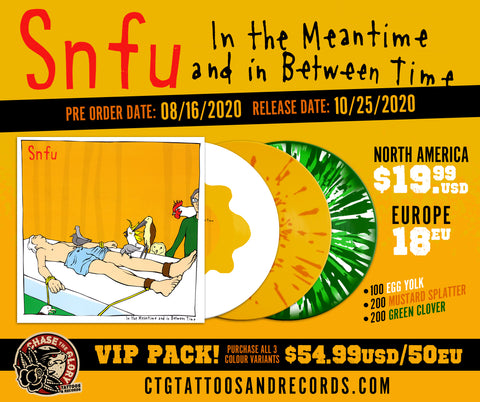 SNFU-In the Meantime and in Between Time 2nd pressing VINYL LP