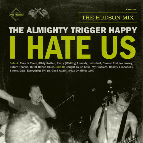 The Almighty Trigger Happy- I Hate Us-VINYL LP