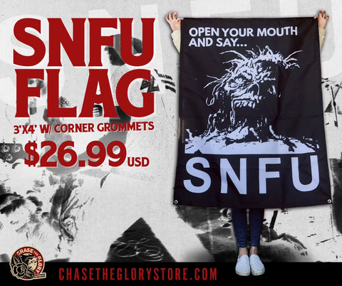 SNFU-Open Your Mouth and Say OFFICIAL FLAG