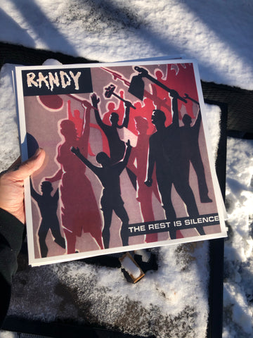 Randy-The Rest is Silence vinyl LP black