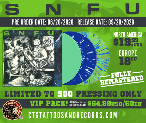 SNFU-Better than a Stick in the Eye 2020 vinyl repress
