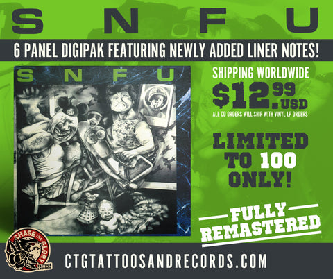 SNFU-Better than a Stick in the Eye CD