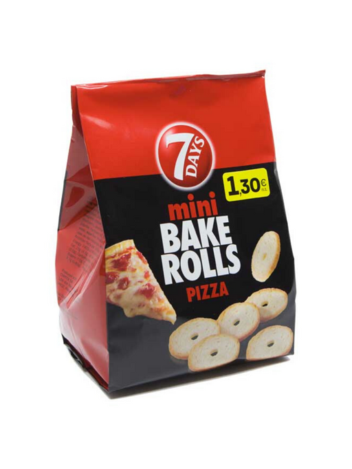 7DAYS Bake Rolls Pizza 160g