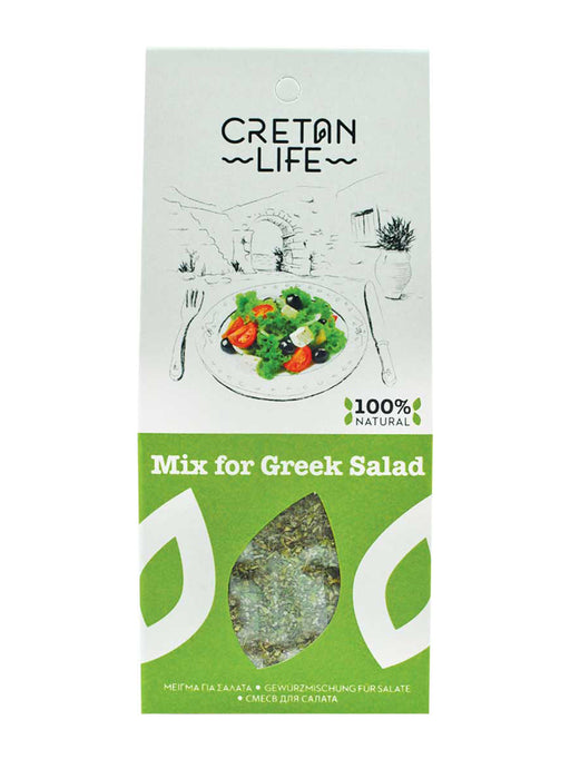 Cretan Life Greek Salad Mix 50g
