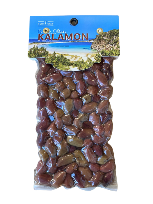 Cretan Beauty Kalamon Oliven 250g