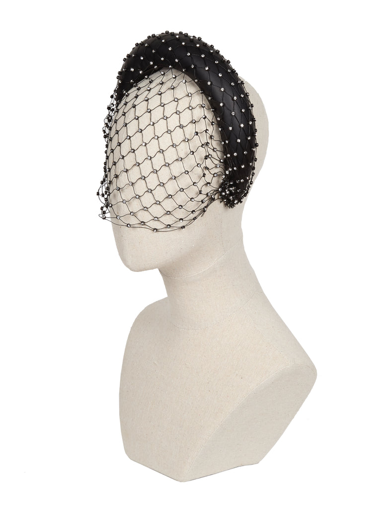 Alexandria Headband with veil