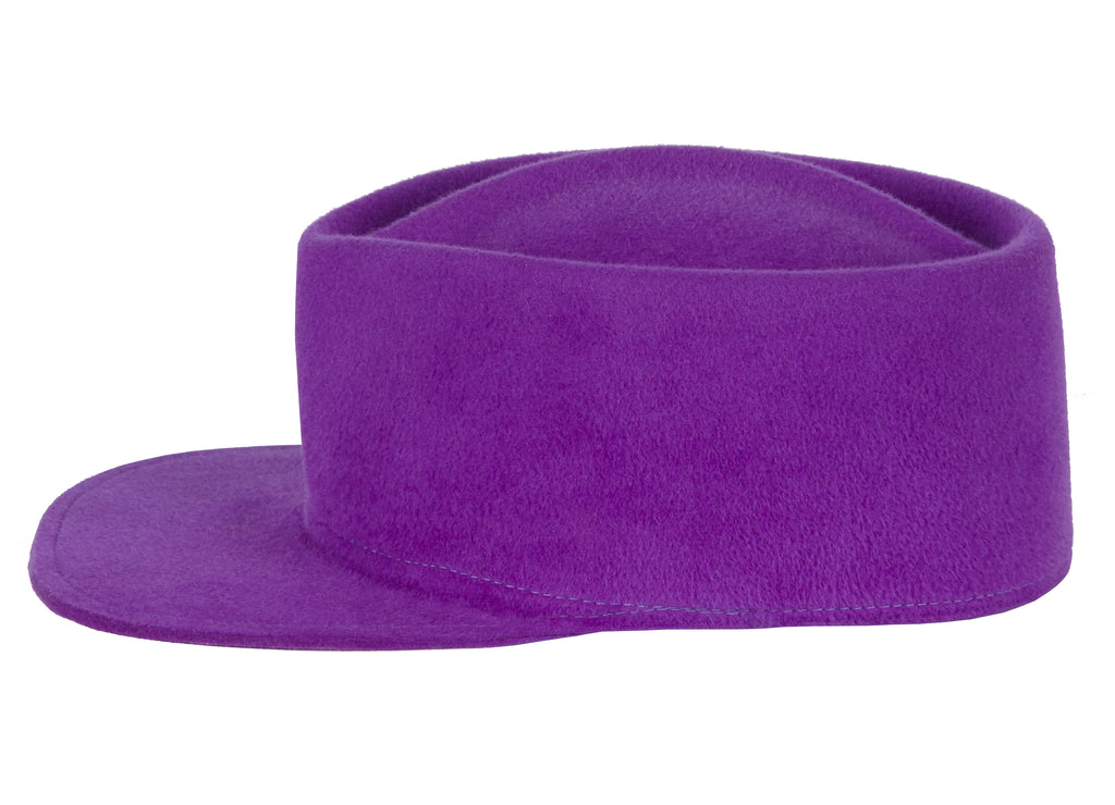 Women and Men's Purple Cap.