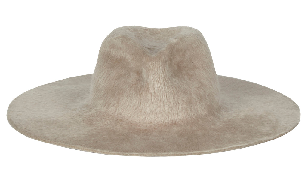 Gia. Women and Men's Handmade Fur Beaver Blush Hats. Gladys Tamez Hat Store. Los Angeles.