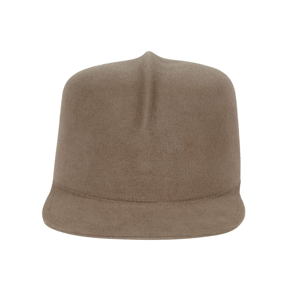 Optimo. Women and Men's Taupe Caps . Gladys Tamez Hat Store.