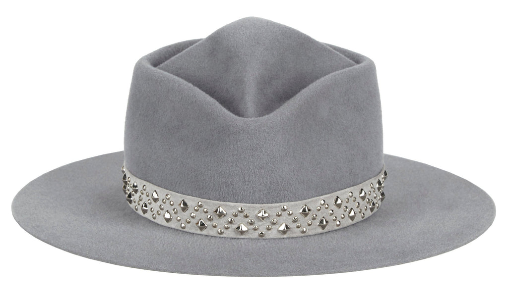 Womens-and-Mens-Hat-Felt-Velour-with-suede-band-Wyman