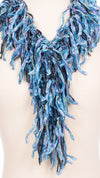 Baby Blues Fringe Scarf