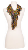 Autumn Sunset Fringe Scarf