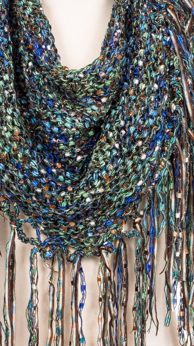 Cloudy Meadows Knit Shawl