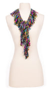 Sophisticated Rainbow Single Ruffle Scarf
