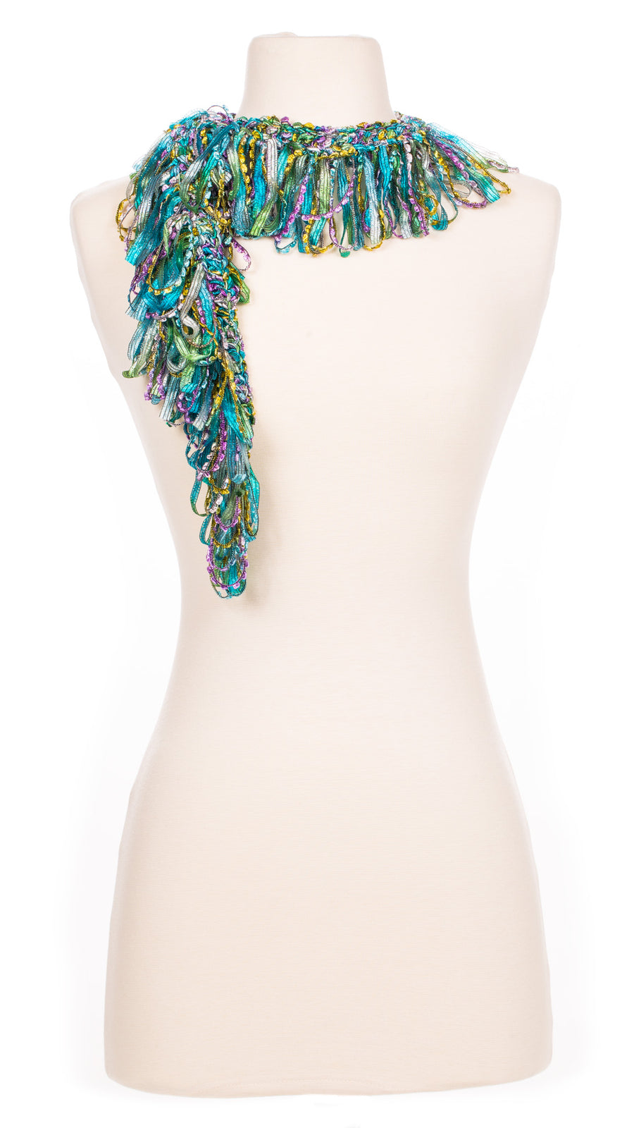 Summer Dreams Single Ruffle Scarf