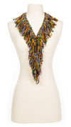 Autumn Sunset Single Ruffle Scarf