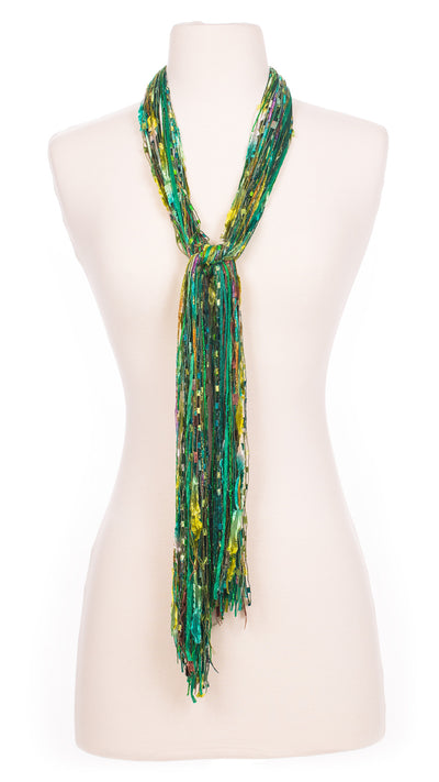 Emerald Fields String Scarf