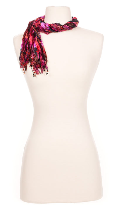 Crimson Shadows String Scarf