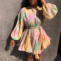 On Holiday |Pleated Dress RAINBOW SHIPS BY 6/22