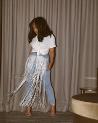 Double Up | Fringe Jeans