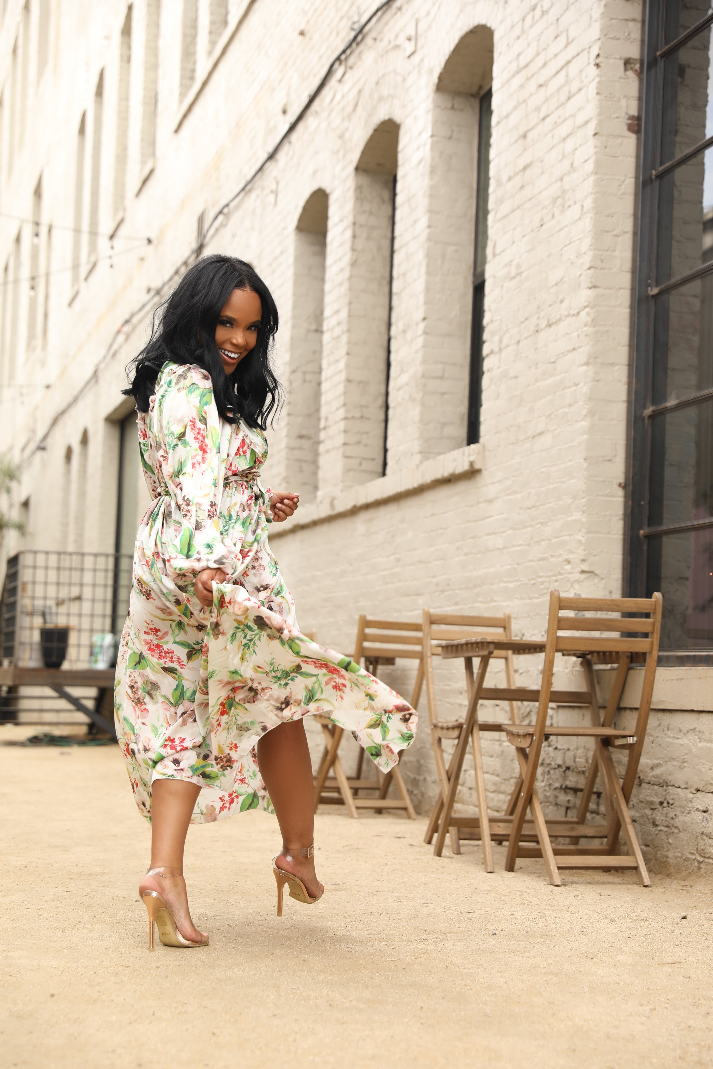 Spring It Up | Wrap Dress