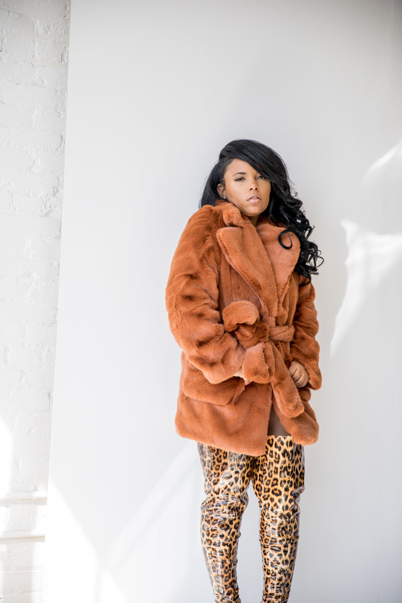 Baby Bear | Faux Fur Coat