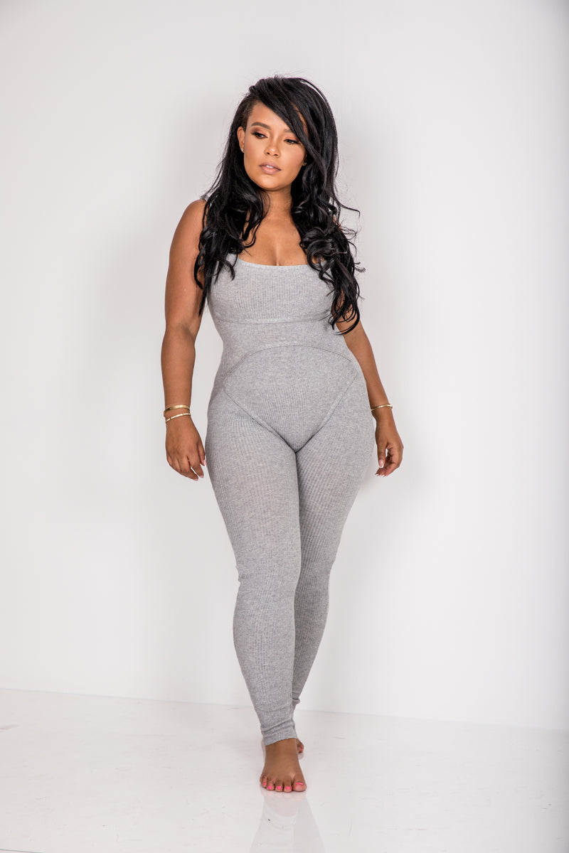 Wrestling with It | Knit lounge Jumpsuit