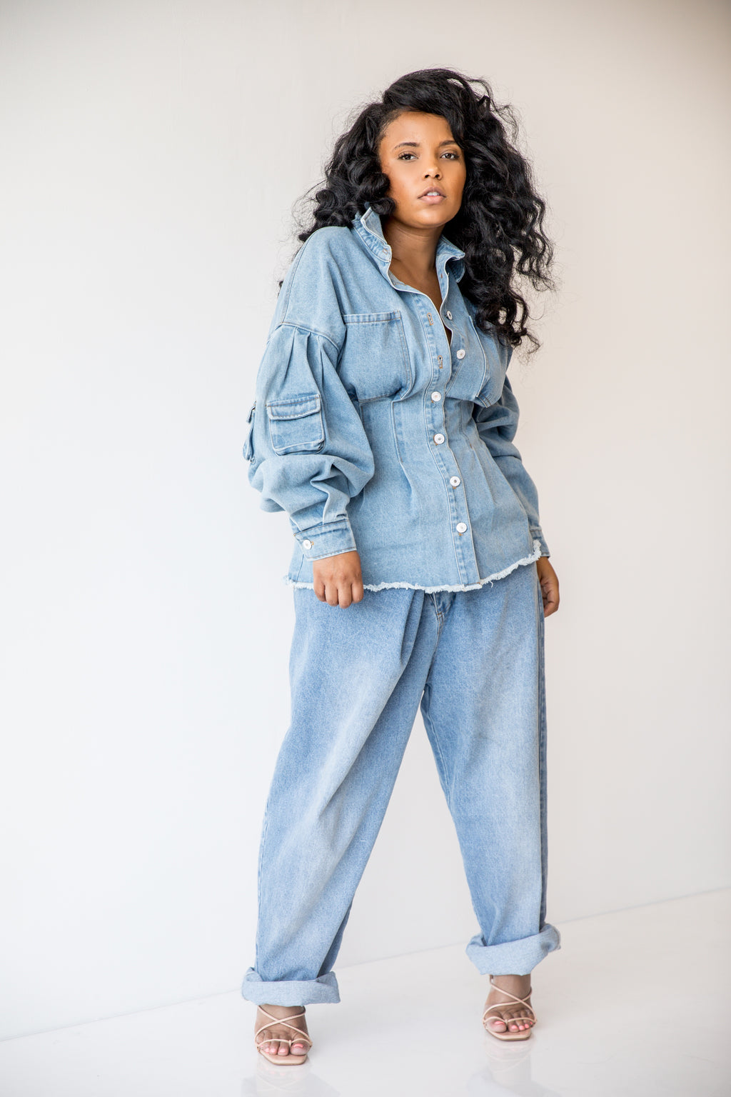 Heavy Cargo | Denim Corset TOP