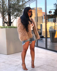 All the Fluff is About  | Fur Coat