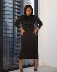 Basic Instinct | Turtleneck Dress