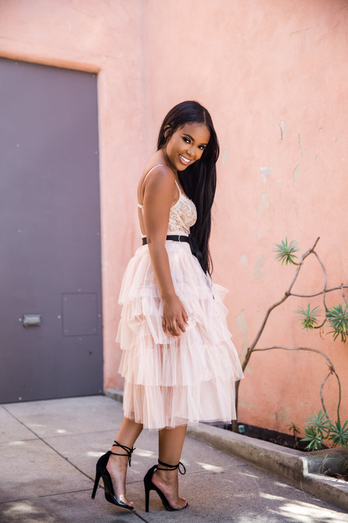 Pop of Princess | Ruffle Skirt