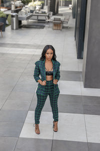 Plaid Out | Top Piece Suit