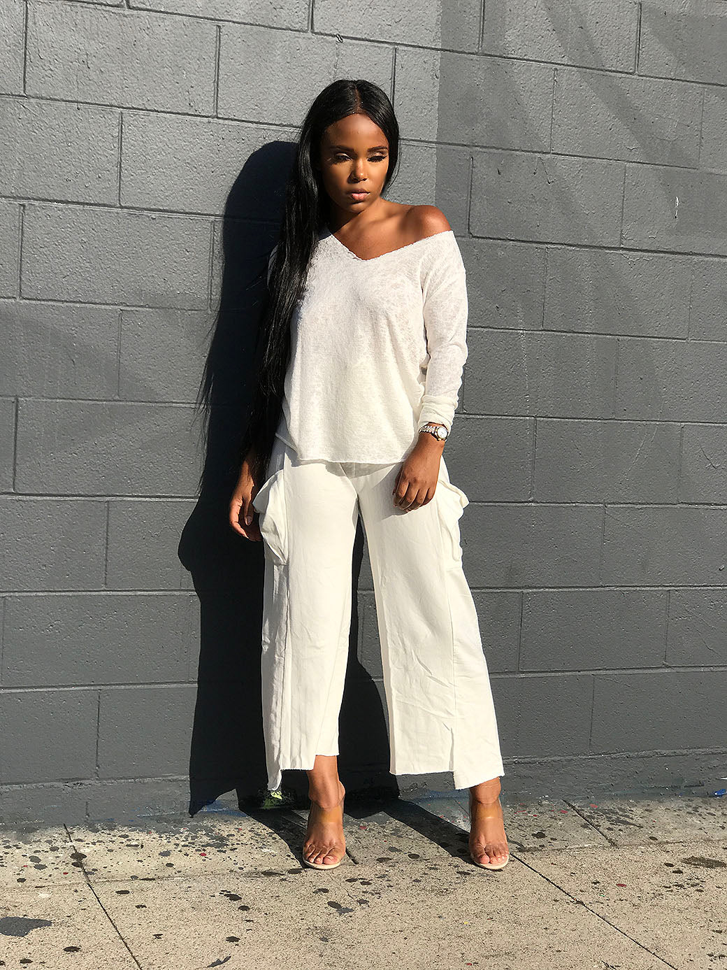 Chill Mode| Crop Pant
