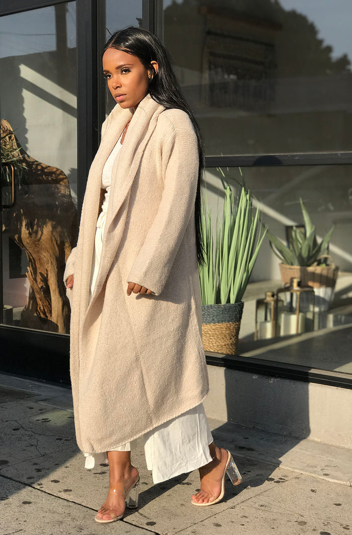 Cozy Up| Cardi Coat