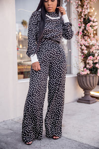 Lovingly | Polka Dot Pant Set