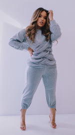 Tulle It Up | Sweat Suit